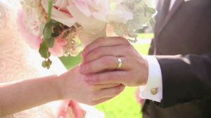 Bride and Groom Bouquet Kimberly Crest Wedding Video