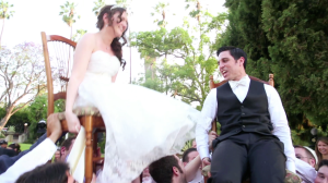 Bride and Groom Chair Dance during Kimberly Crest Wedding Video