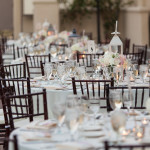 Reception Setup at Marbella Country Club Wedding Orange County Videography