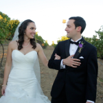 Bride and Groom in Vineyard at Wilson Creek Winery Weddign Video