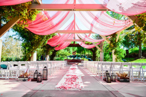 Ceremony Site at Orange County Golf Course Wedding Venue