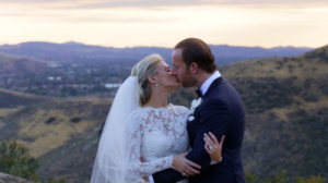 Celebrity Bride and Groom Hummingbird Nest Ranch Wedding