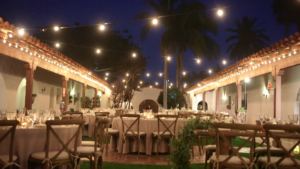 Wedding Reception Decour at Casa Romantica in San Clemente Highlight Film