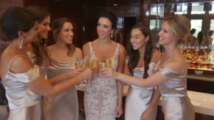 Bride and Bridesmaids toast before Wedding Ceremony at Beverly Hills Hotel Highlight Video