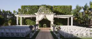 Wedding Ceremony site at Temecula Winery Venue Villa de Amore